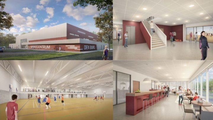 Afbeelding bij Nieuwbouw sporthal – Den Burg/Texel