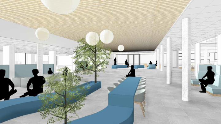 Afbeelding bij Interieurvernieuwing Hogeschool Viaa – Zwolle