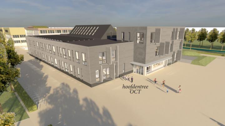 Afbeelding bij Ontwerp onderwijscentrum Texel (OCT) gepresenteerd