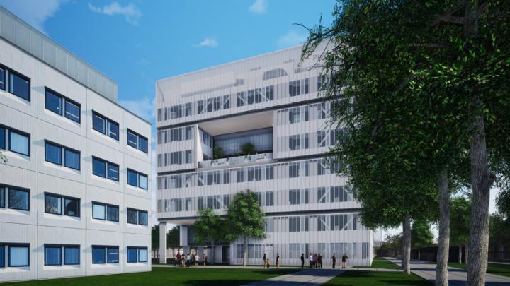 Afbeelding bij Ontwikkeling multitenant lab/ kantoor gebouw – Oss