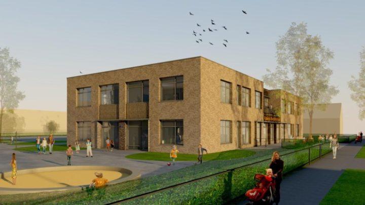 Afbeelding bij Bouw Koningin Beatrix-school is in volle gang