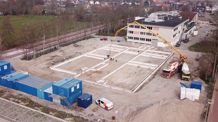 Afbeelding bij De bouw van Onderwijs-centrum Texel is gestart